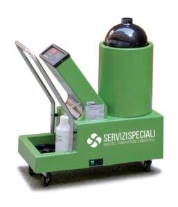 Generatore di aerosol secco
